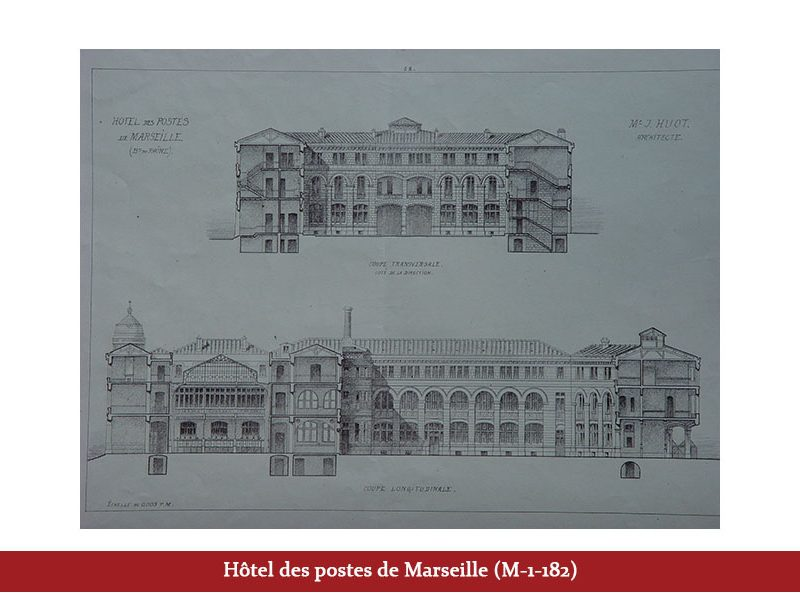 Bureau de poste de Marseille (M-1-182)