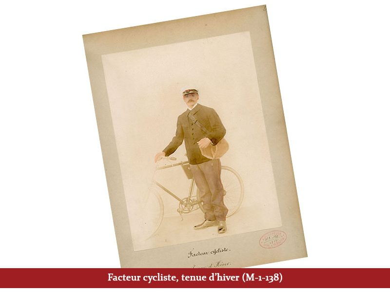 Facteur cycliste, tenue d'hiver (M-1-138)