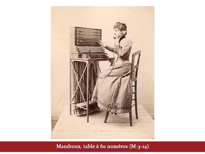 Mandroux, table à 60 numéros (M-3-14)