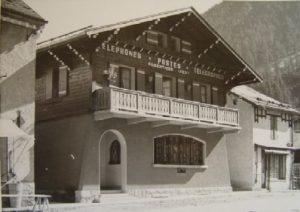 Bureau de poste d'Argentière