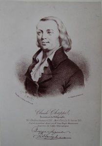 Portrait de Claude Chappe (1763-1805)
