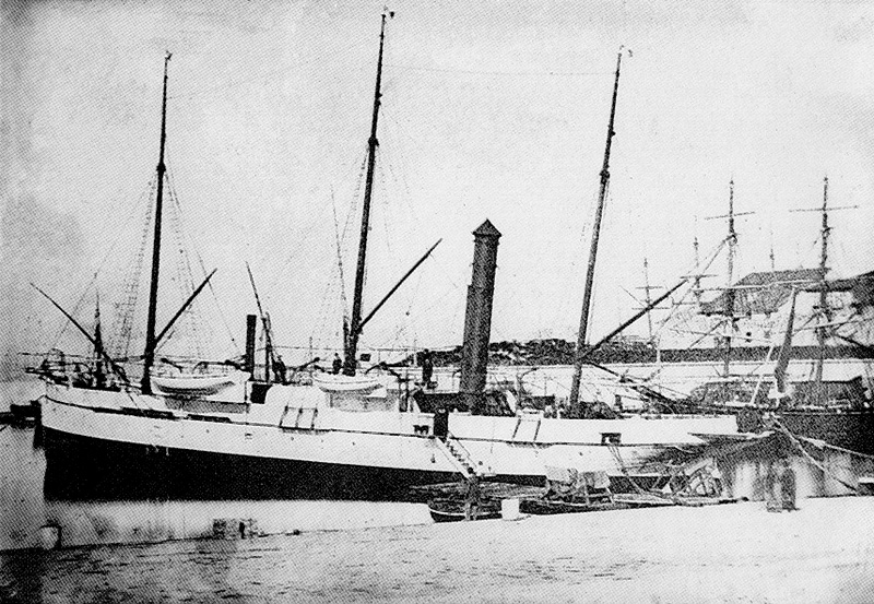cablier Ampere 1864